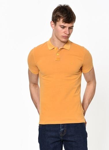 Wrangler Polo Yaka Tişört Sarı